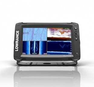 Lowrance Elite-9Ti Mid/High/TotalScan™ (000-13274-001)