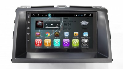 Штатное ГУ Toyota Land Cruiser Prado 120 2002-2009-Carwinta FR-9027i-kit  Android