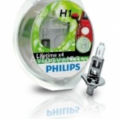 PHILIPS H1 (55) P14.5s Long Life Eco (2 шт) 12V