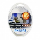 PHILIPS HB4/9006 (55) P22d Diamond Vision (2шт.) 12V 9006DV2