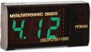 Multitronics DM20D Тахометр+вольтметр (дизель)
